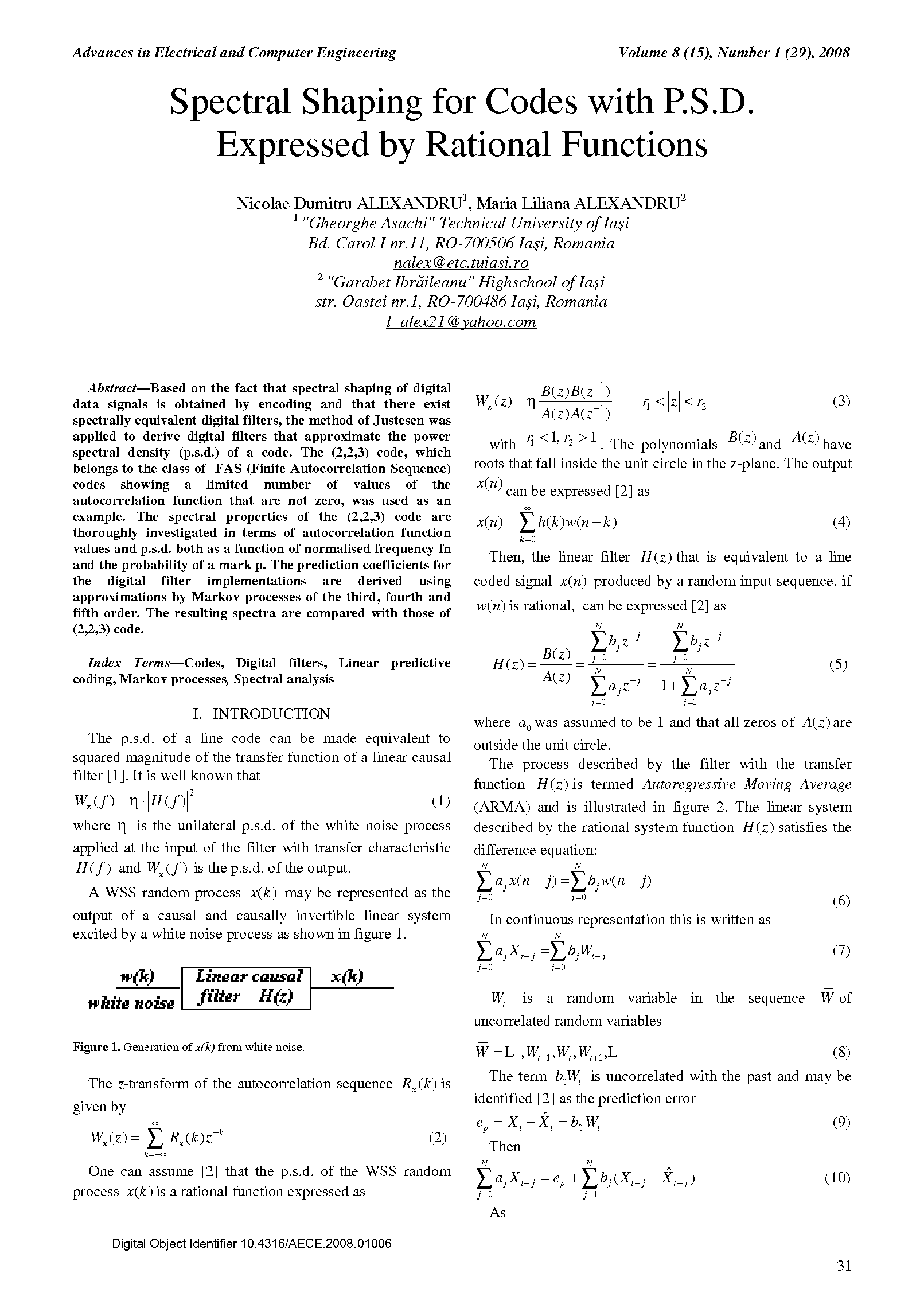 PDF Quickview for paper with DOI:10.4316/AECE.2008.01006