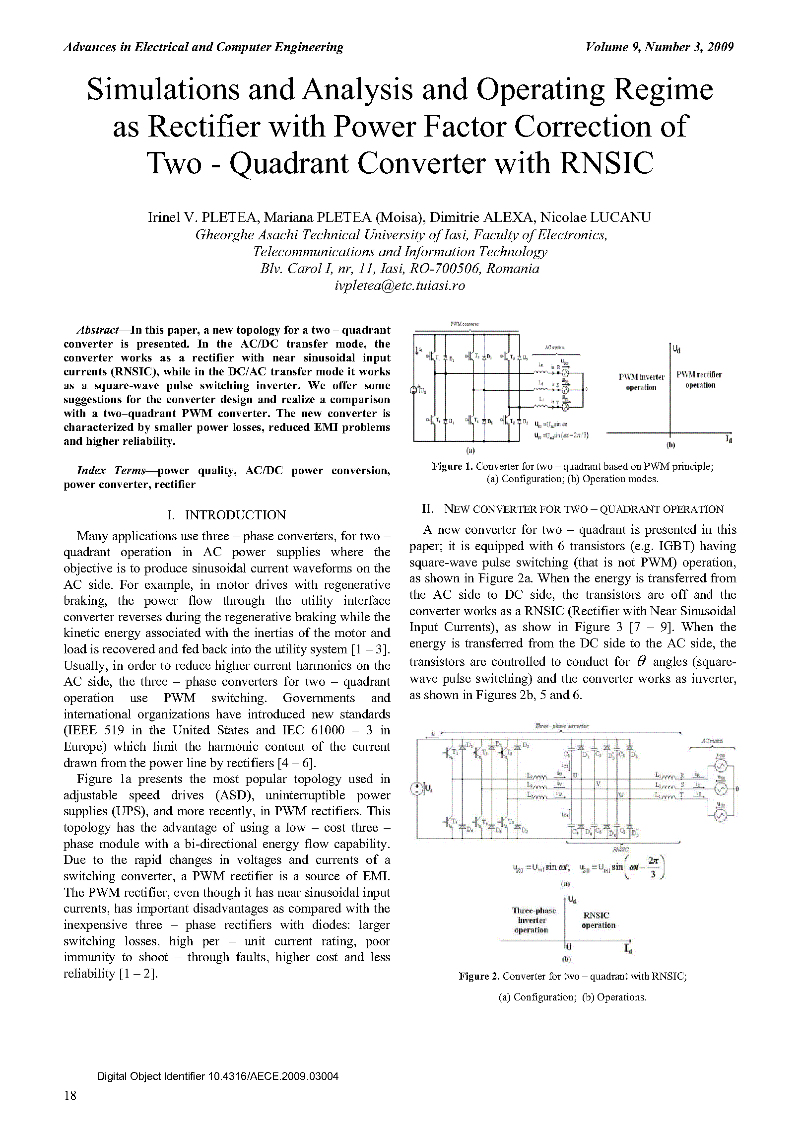 PDF Quickview for paper with DOI:10.4316/AECE.2009.03004