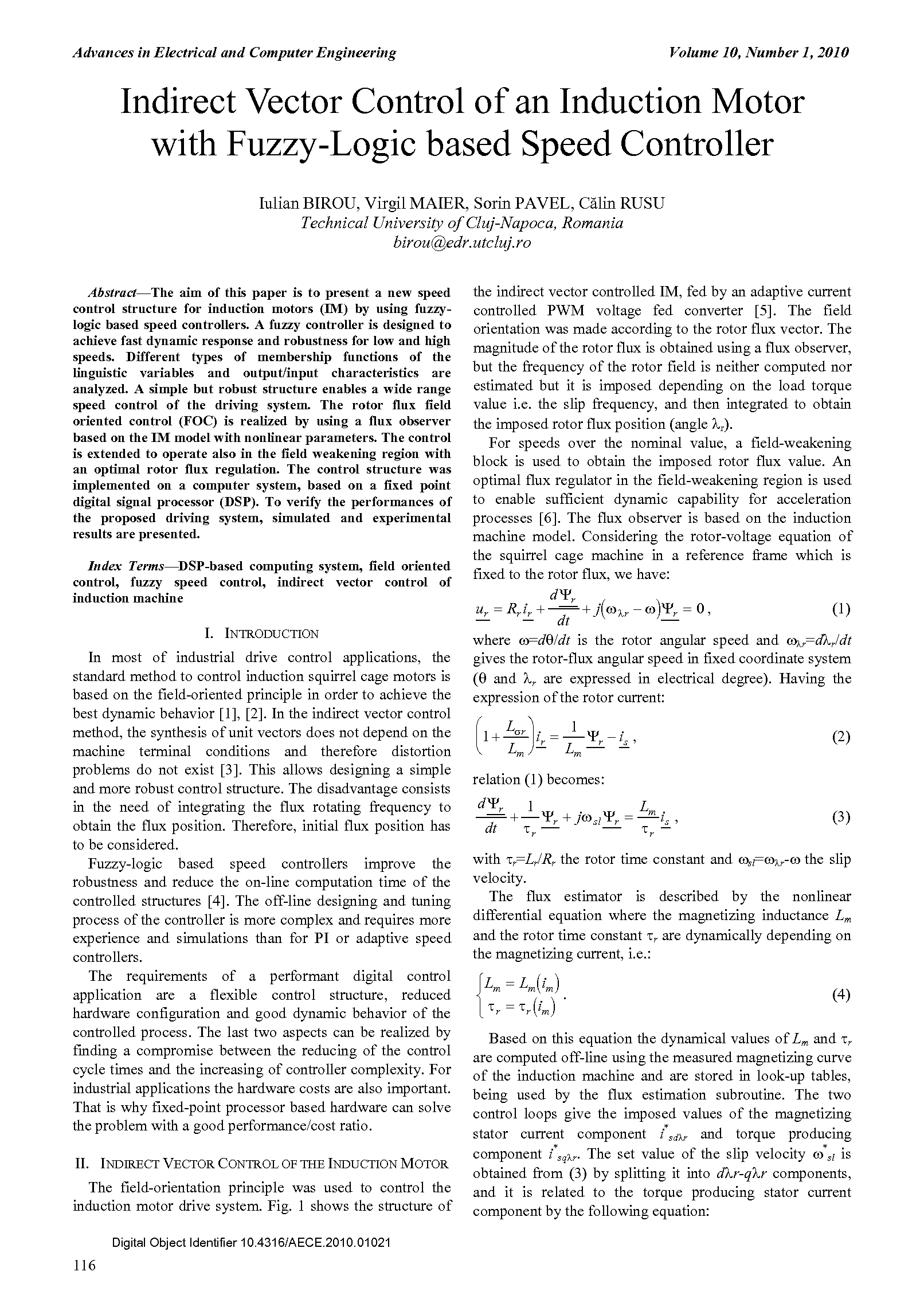 PDF Quickview for paper with DOI:10.4316/AECE.2010.01021