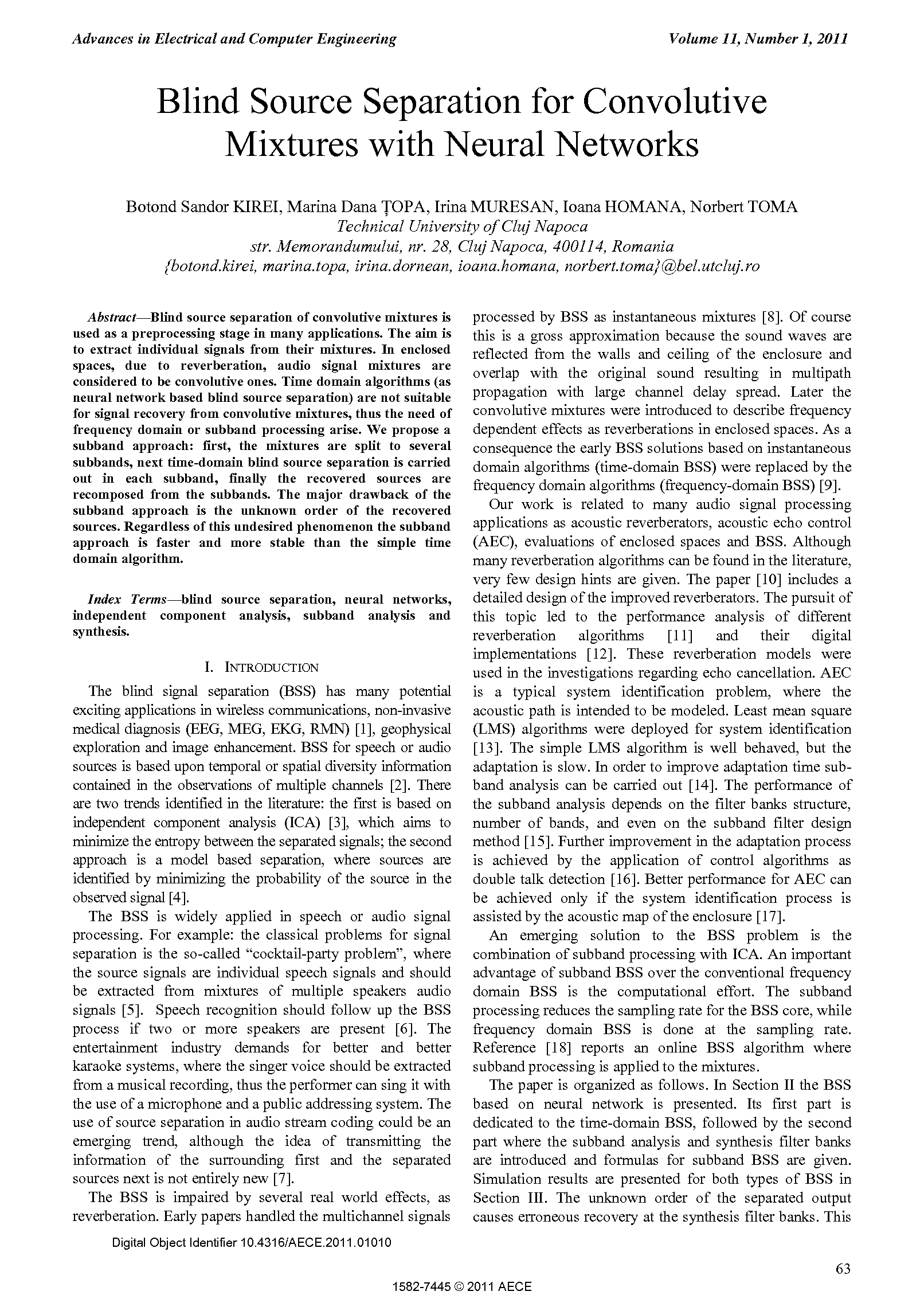 PDF Quickview for paper with DOI:10.4316/AECE.2011.01010