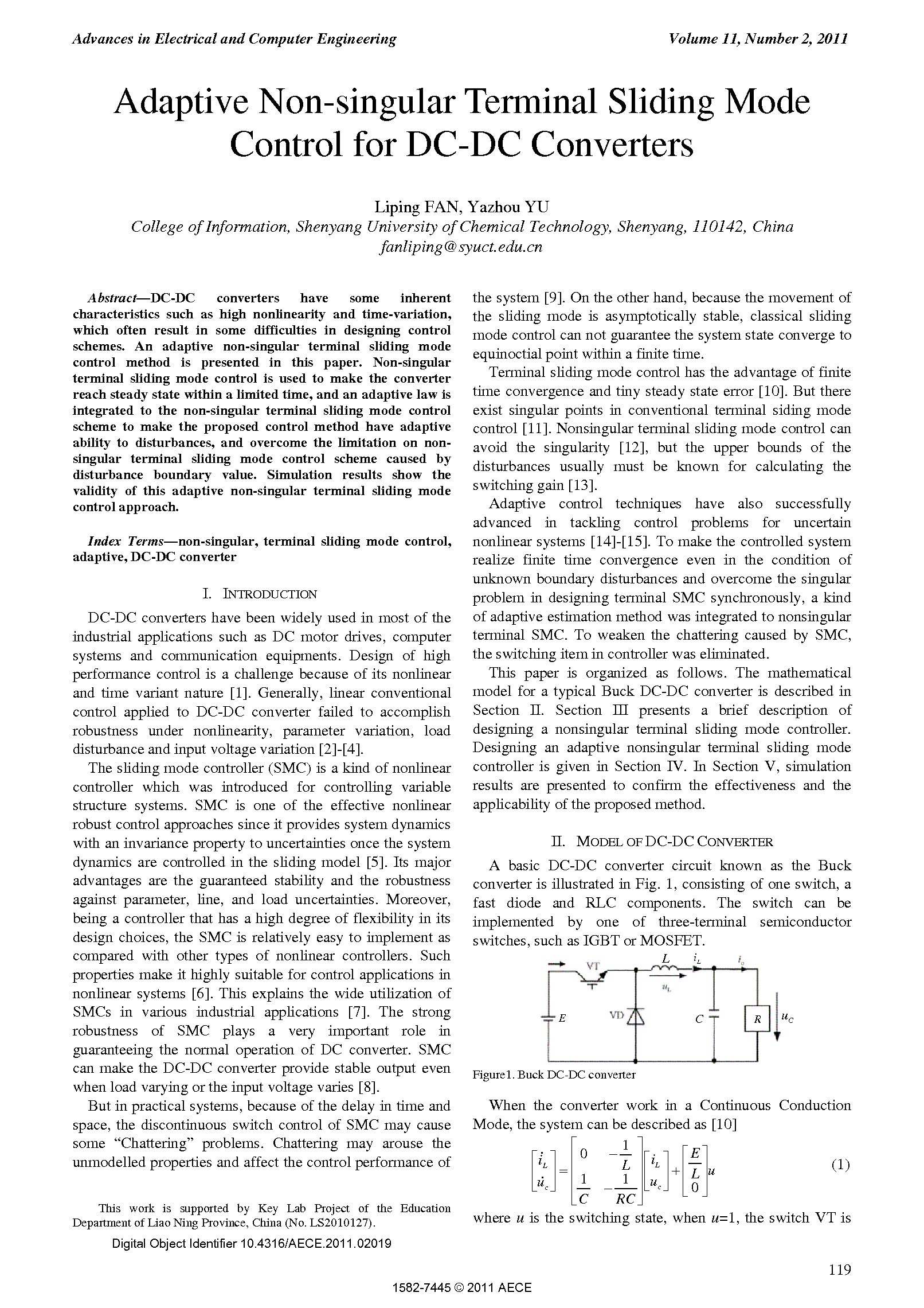 PDF Quickview for paper with DOI:10.4316/AECE.2011.02019