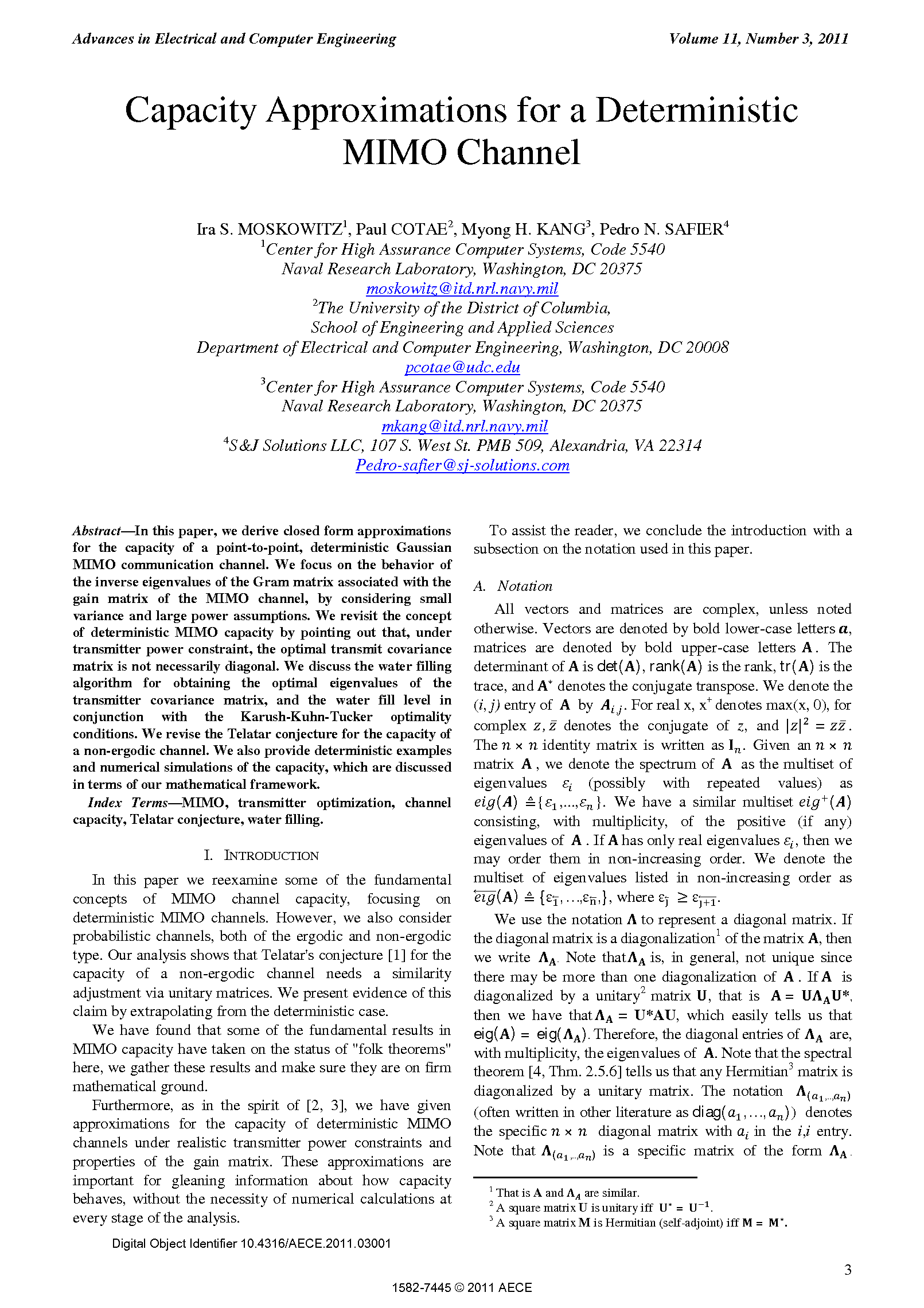 PDF Quickview for paper with DOI:10.4316/AECE.2011.03001