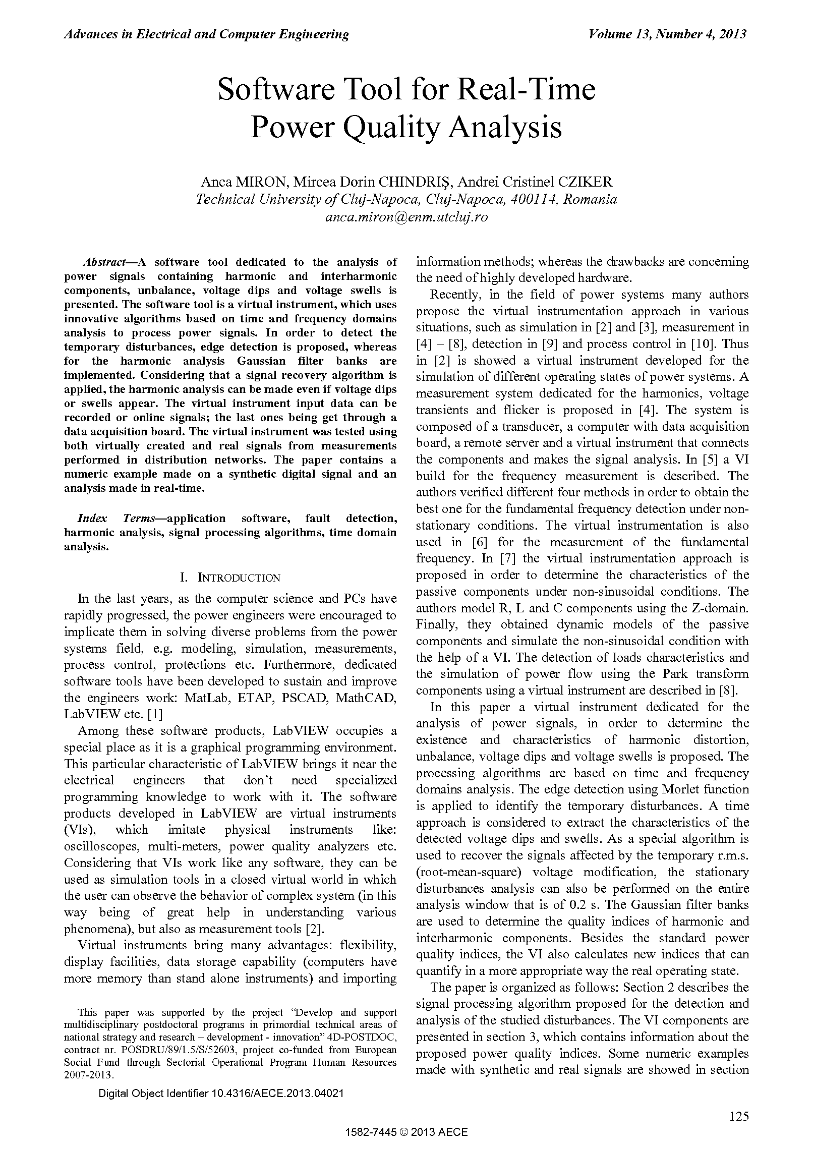 PDF Quickview for paper with DOI:10.4316/AECE.2013.04021