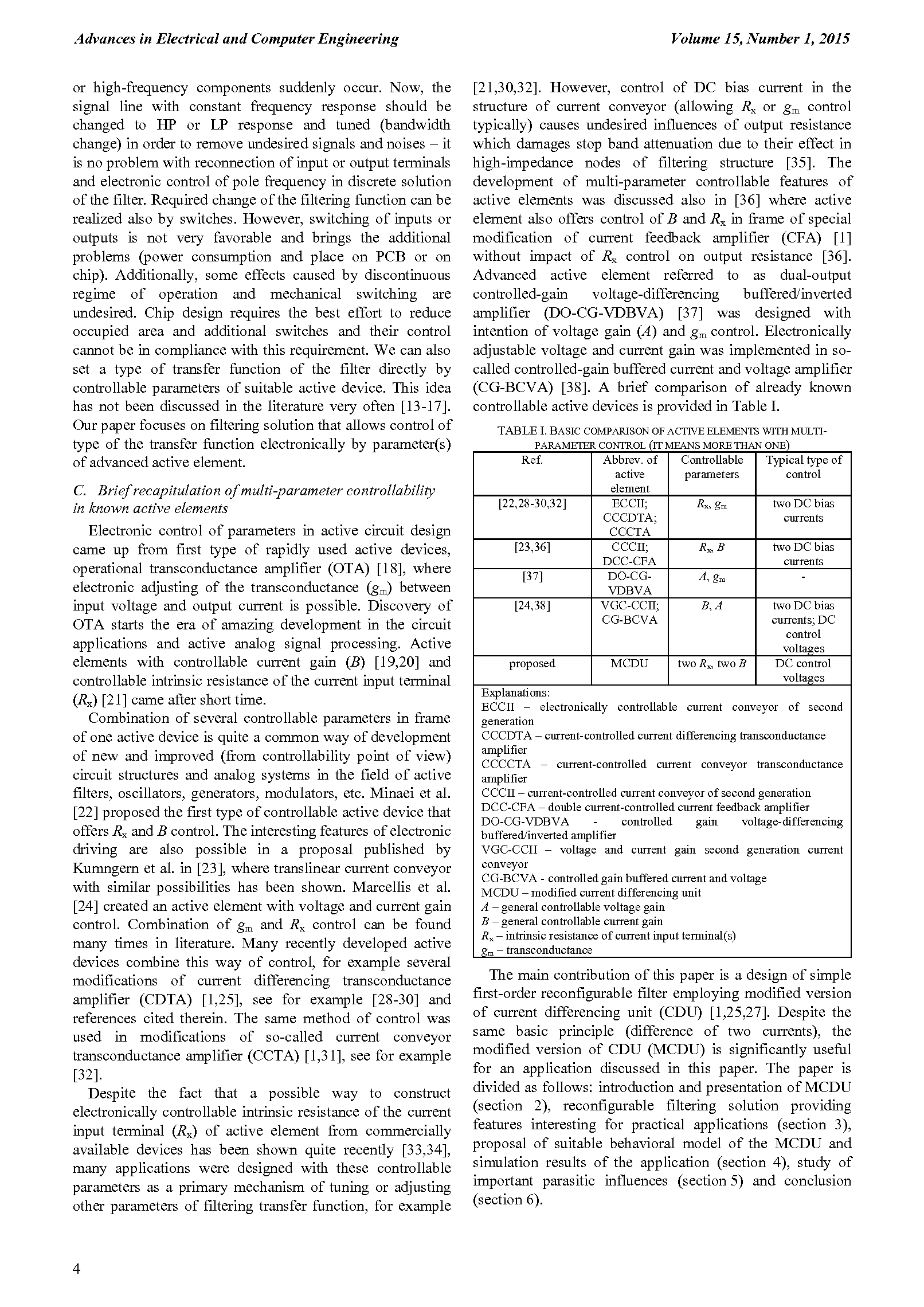 PDF Quickview for paper with DOI:10.4316/AECE.2015.01001