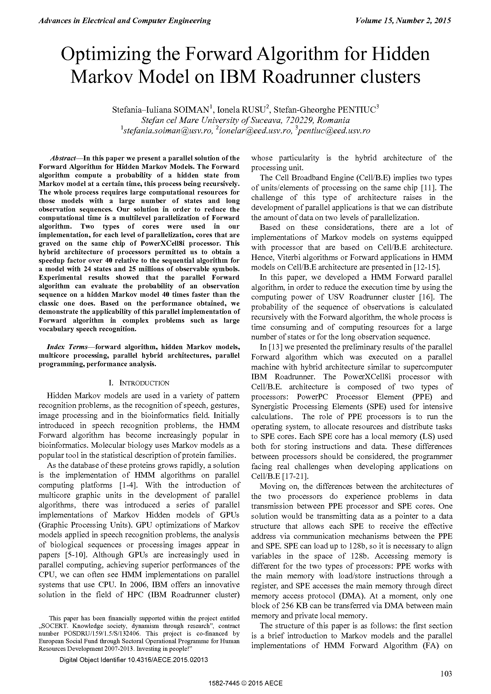 PDF Quickview for paper with DOI:10.4316/AECE.2015.02013