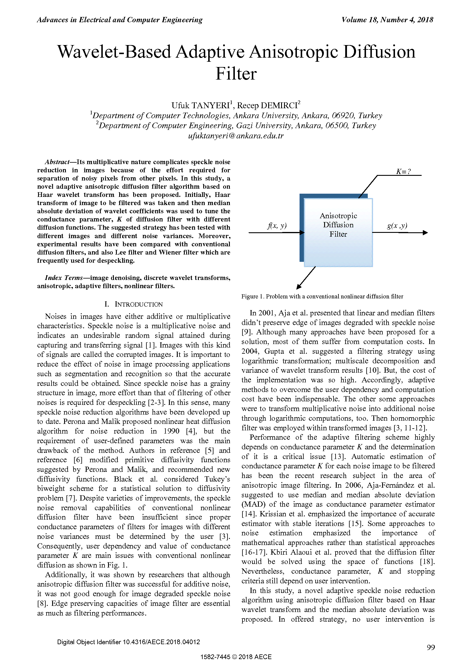PDF Quickview for paper with DOI:10.4316/AECE.2018.04012