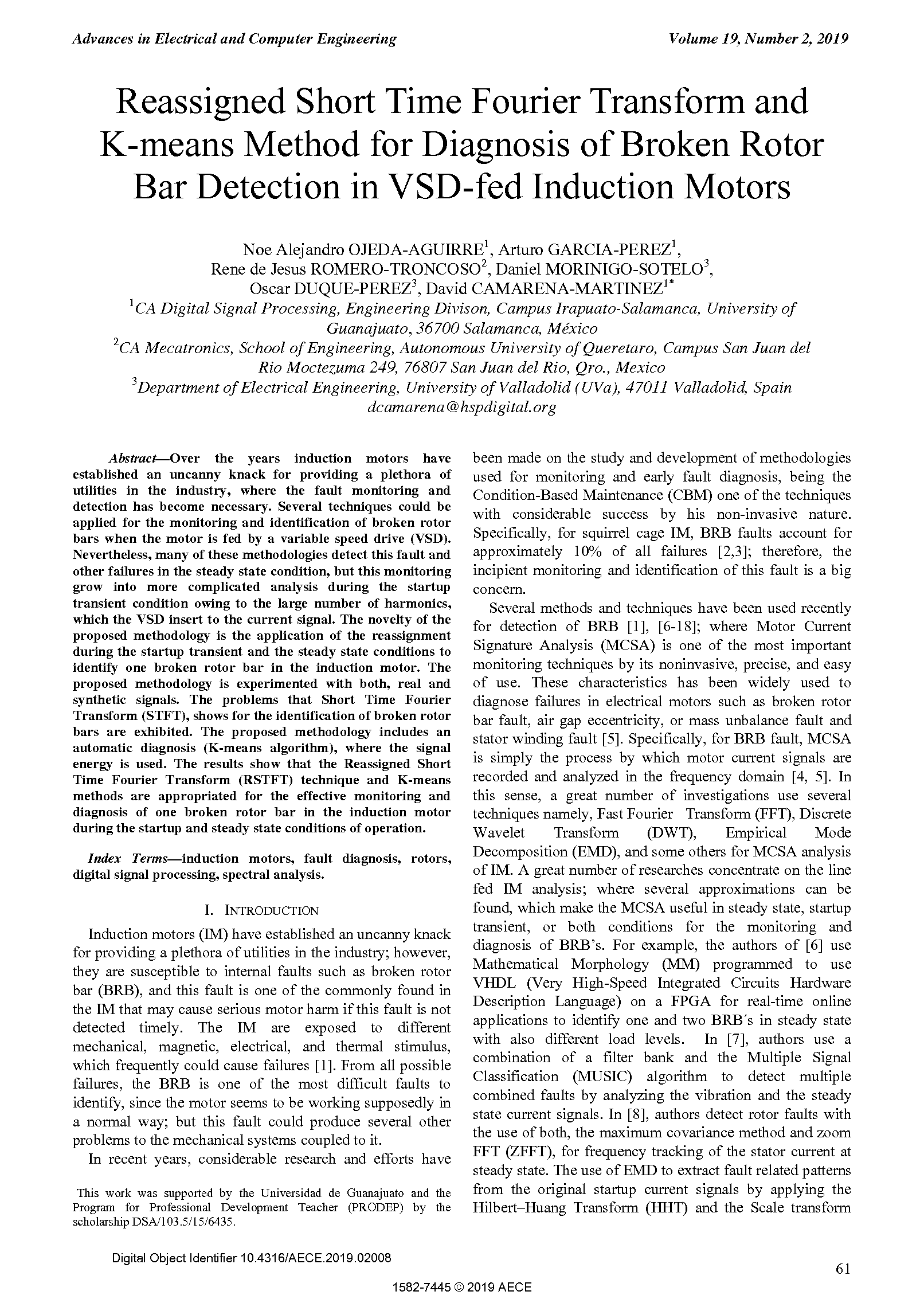 PDF Quickview for paper with DOI:10.4316/AECE.2019.02008