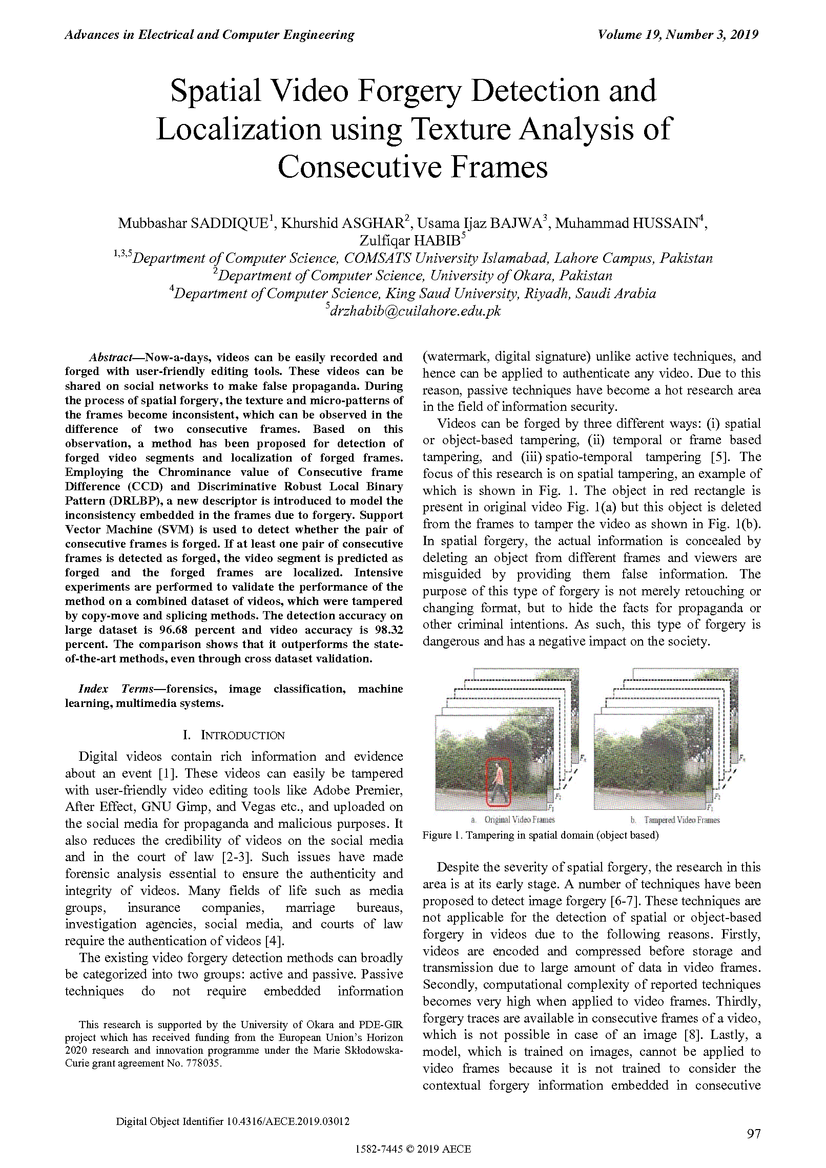 PDF Quickview for paper with DOI:10.4316/AECE.2019.03012